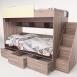 Кровать двухъярусная «Бамбино 3-1»0
