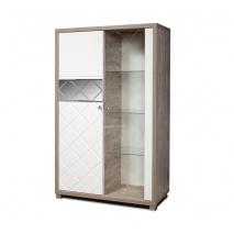 Шкаф с витриной Л Кристал