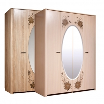 Шкаф для одежды Венеция 4Д