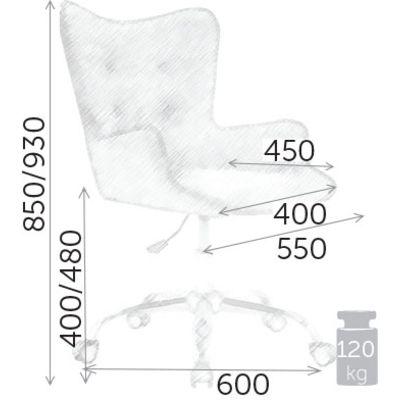 Кресло BELLA БЕЛЛА