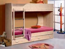 Кровать двухъярусная «Крепыш 01»