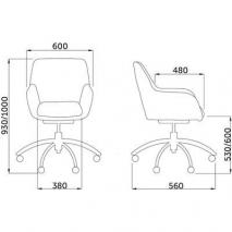Кресло поворотное GRASSO
