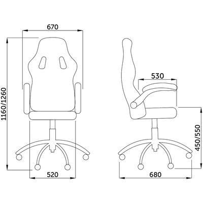Кресло поворотное JORDAN