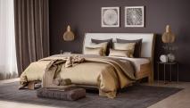 Кровать 1600-01 светлая