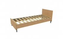 Кровать КР017 с ламелями