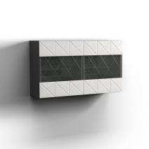 Шкаф навесной 2Д Монако