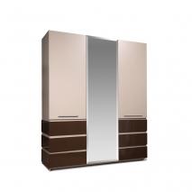 Шкаф для одежды 3Д Хилтон