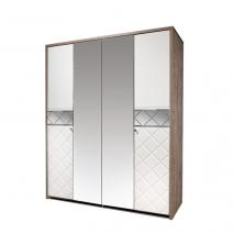 Шкаф для одежды 4Д Кристал