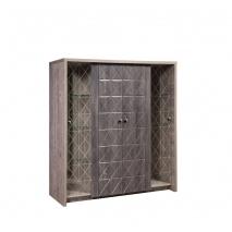 Шкаф комбинированный 4Д Монако