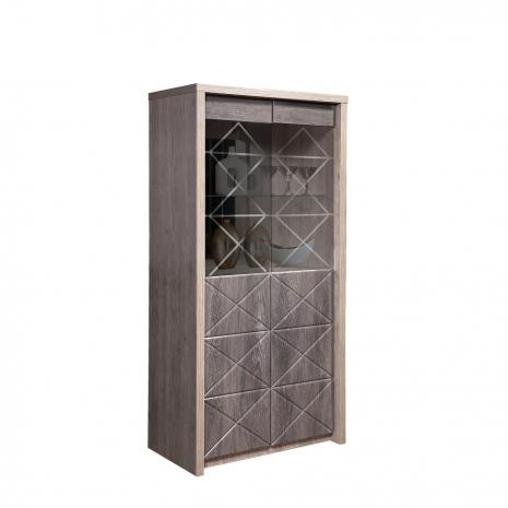 Шкаф с витриной 2Д Монако