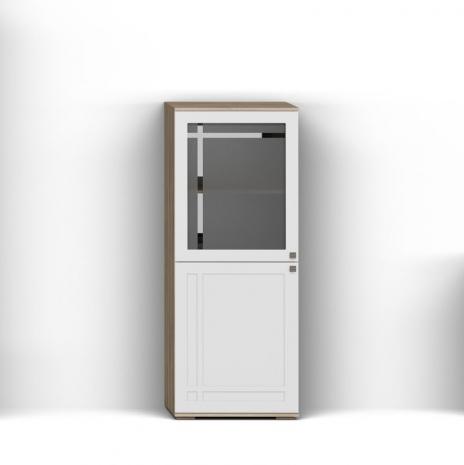 Шкаф с витриной Л Шарм