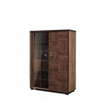 шкаф с витриной П Монтана