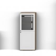 Шкаф с витриной П Шарм