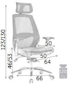 Кресло поворотное SPIRIT